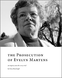 book: The Prosecution of Evelyn Martens